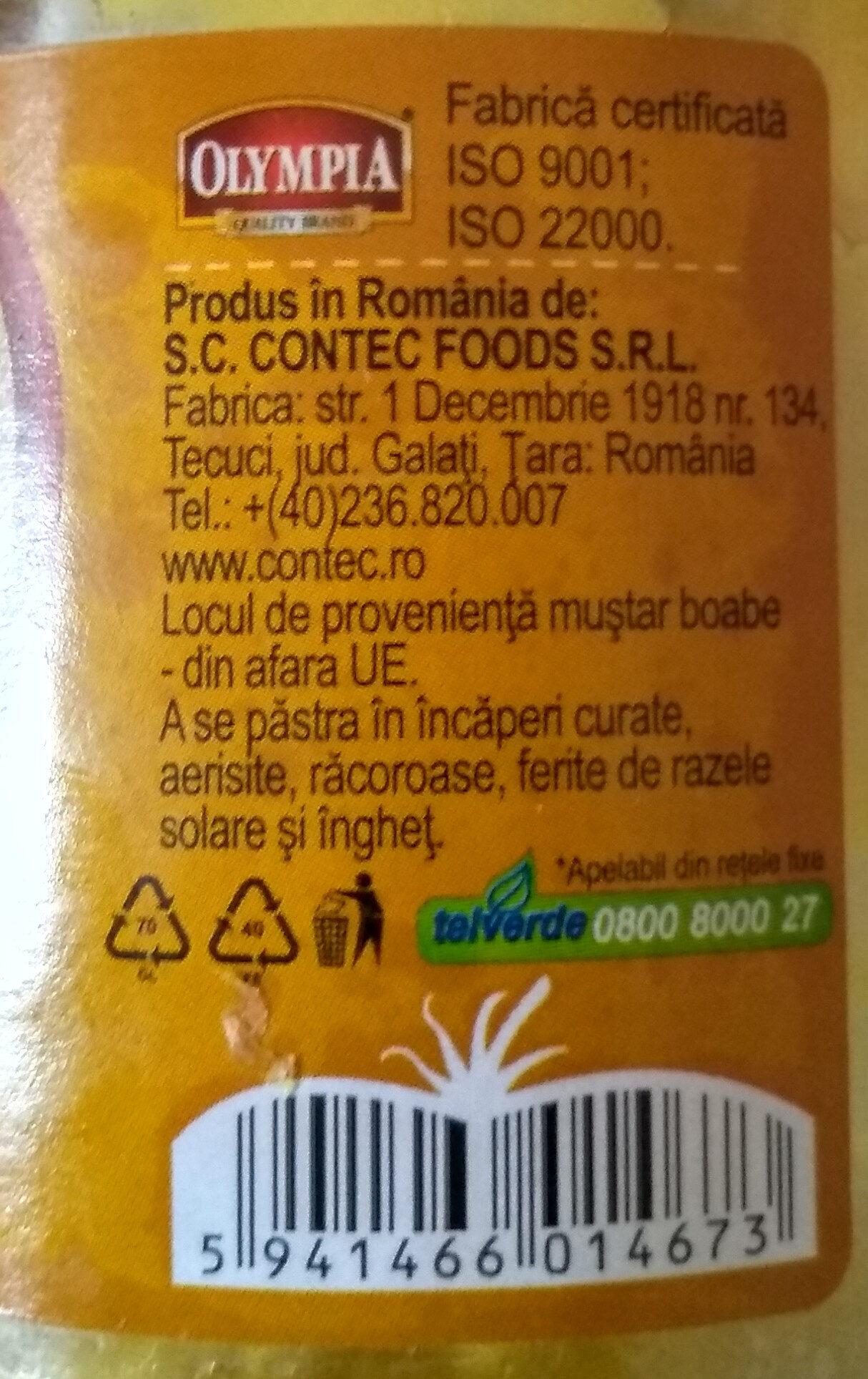 Olympia - Sweet Mustard / Mustar Dulce - Produit - fr