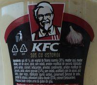 KFC Sos Usturoi - Ingredients - ro