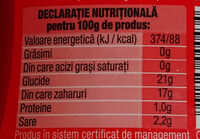 Tomi Ketchup Dulce - Informations nutritionnelles - fr