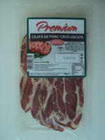 Premium Ceafa de porc crud uscata - Product - ro