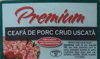 Premium Ceafa de porc crud uscata - Ingredients - ro