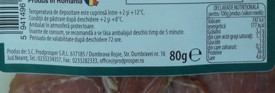 Premium Muschi crud uscat feliat - Nutrition facts - ro