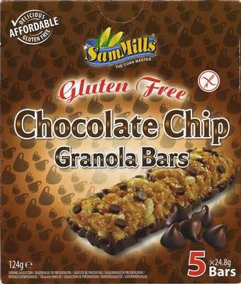 Gluten Free Chocolate Chips Granola Bars - Producto