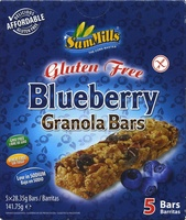 Gluten Free Blueberry Granola Bars - Producto - es