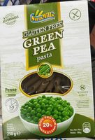 Gluten free green pea pasta - Product - fr