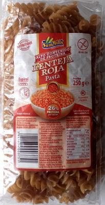 Pasta Lenteja Roja