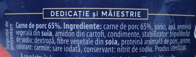 Atelier Medias Carne de porc - Ingrediënten