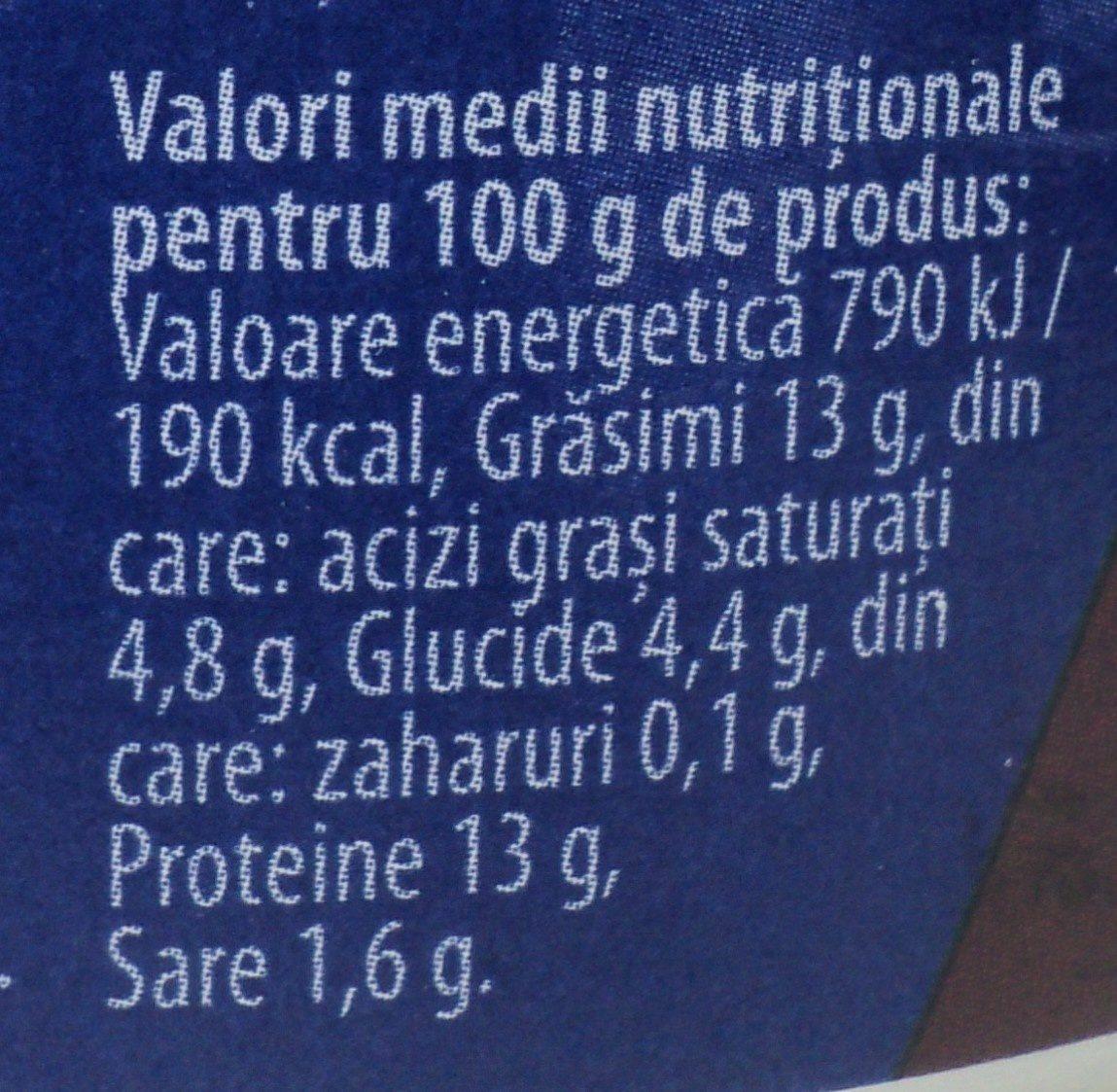 Atelier Mediaș Carne de vită - Voedigswaarden
