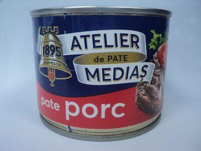 Atelier Mediaș Pate porc - Product
