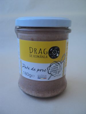 Drag de Romania Pate de porc - Product