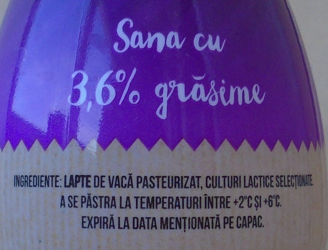 Olympus Sana - Ingredients - ro