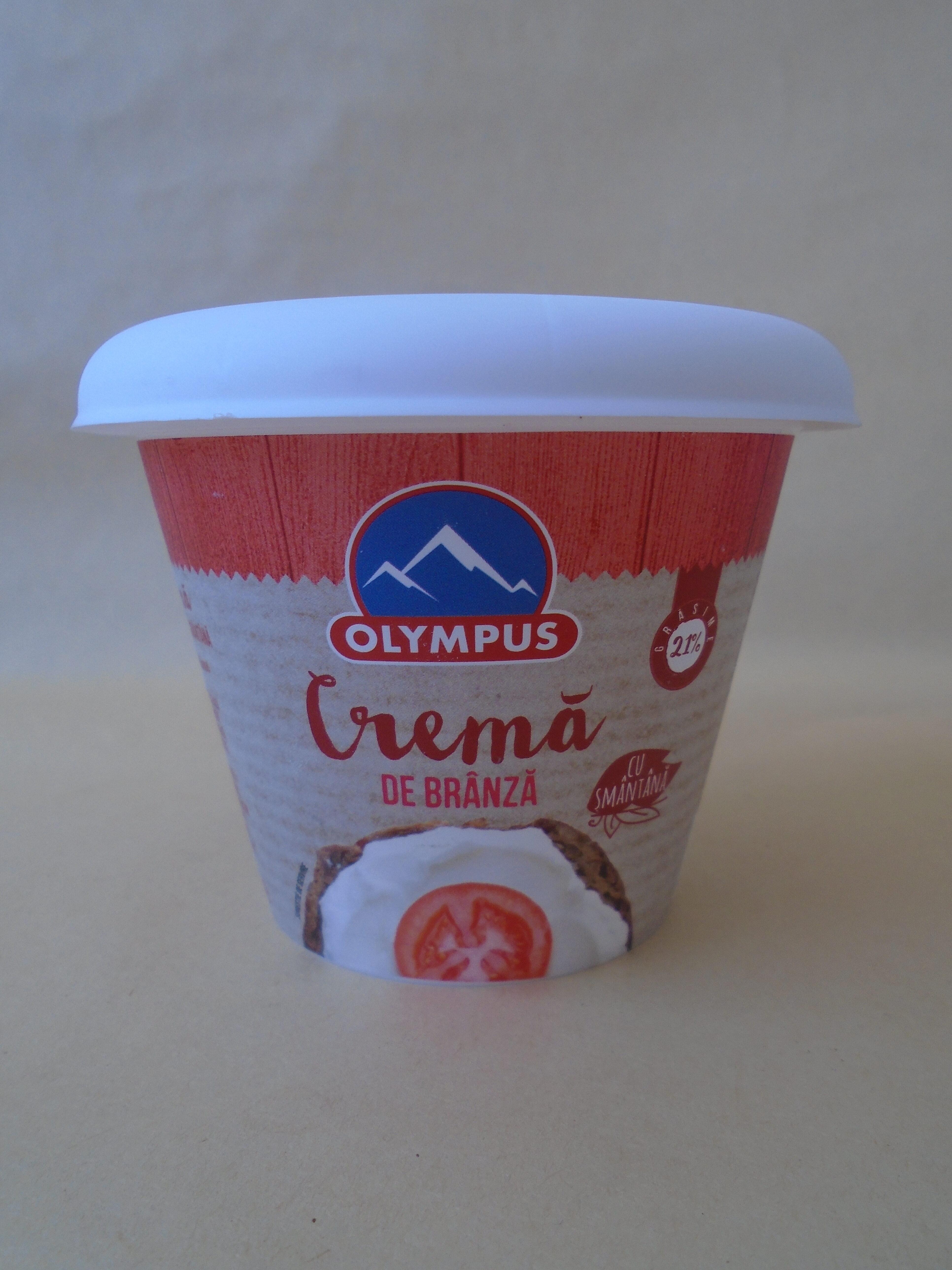 Olympus Cremă de brânză cu smântână - Product - ro