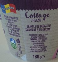 Olympus Cottage cheese - Ingredients - ro