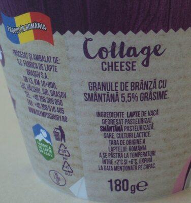 Olympus Cottage cheese - Ingredients