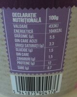 Olympus Cottage cheese - Nutrition facts - ro