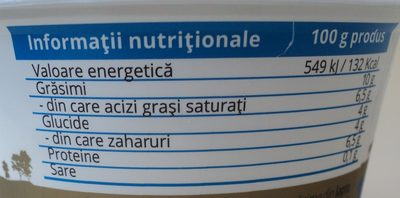 Olympus Stragghisto Iaurt grecesc 10% - Nutrition facts