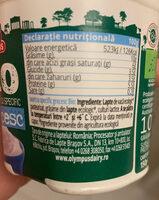 Olympus BIO Iaurt Grecesc 10% - Ingredients - en