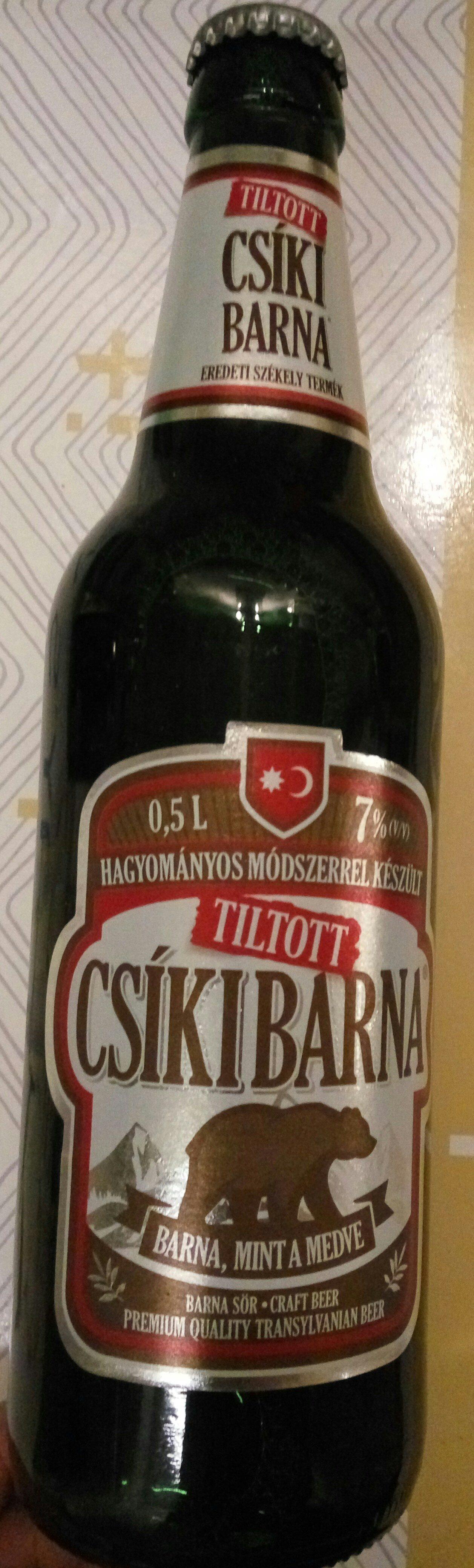 Csíki Barna - Produit - hu