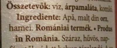 Csíki Barna - Ingrédients - hu