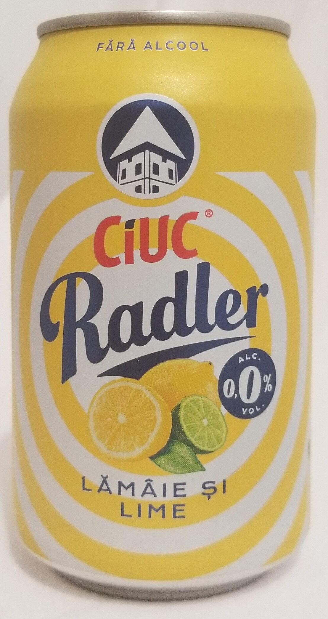 Ciuc Radler lămâie și lime 0,0% - Product