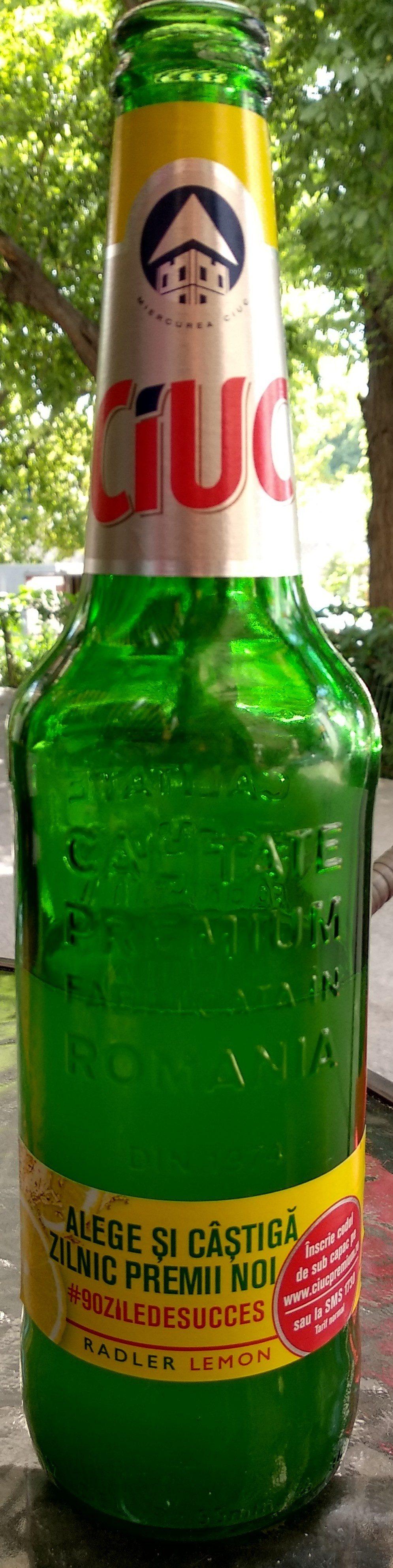 Ciuc Radler Lemon - Product