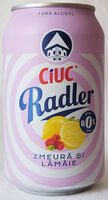 Ciuc Radler zmeură și lămâie 0,0% - Product