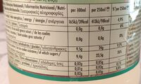 Frutti fresh - Informations nutritionnelles - fr