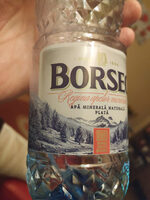 Water Mineral Natural Borsec Still 500ML 1 / 12 - Product - fr