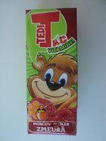 Tedi Morcov, măr și zmeură - Produit - ro