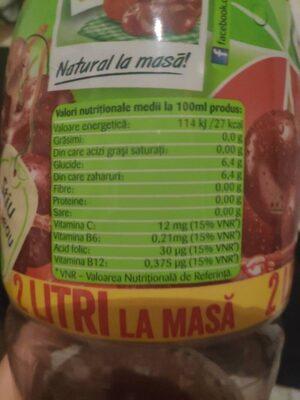 Tymbark Visine - Informations nutritionnelles - fr