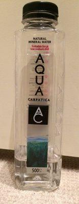Aqua Carpatica: Still Water 500ML (Pet Bottle) - 500ML - Prodotto - fr