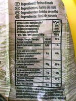 Pasta d'oro gluten free - Voedingswaarden - fr