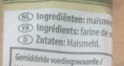 Spaghetti 100% Maïs Pasta d'Oro - Ingredients - fr