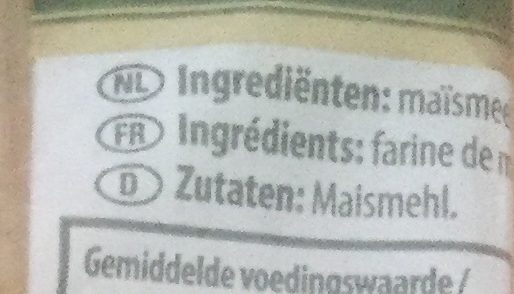 Spaghetti 100% Maïs Pasta d'Oro - Ingrediënten - nl