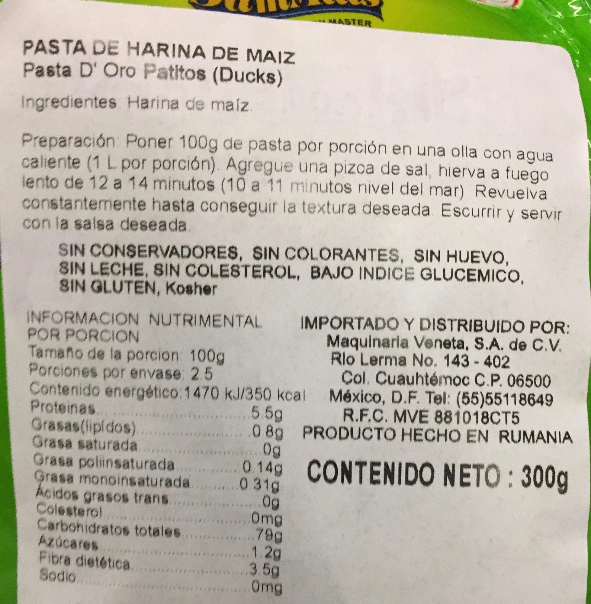 harina de maiz gluten free