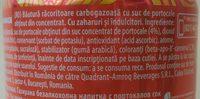 Mirinda Bautura racoritoare carbogazoasa cu suc de portocale - Ingredients - ro