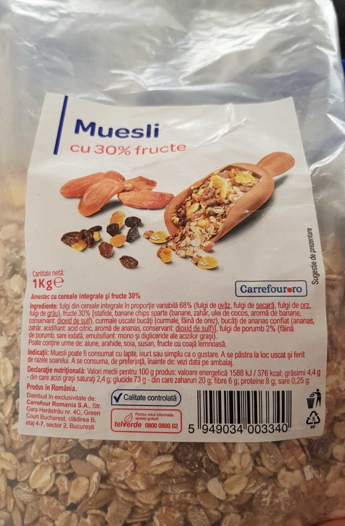 Musli cu 30% fructe - Product