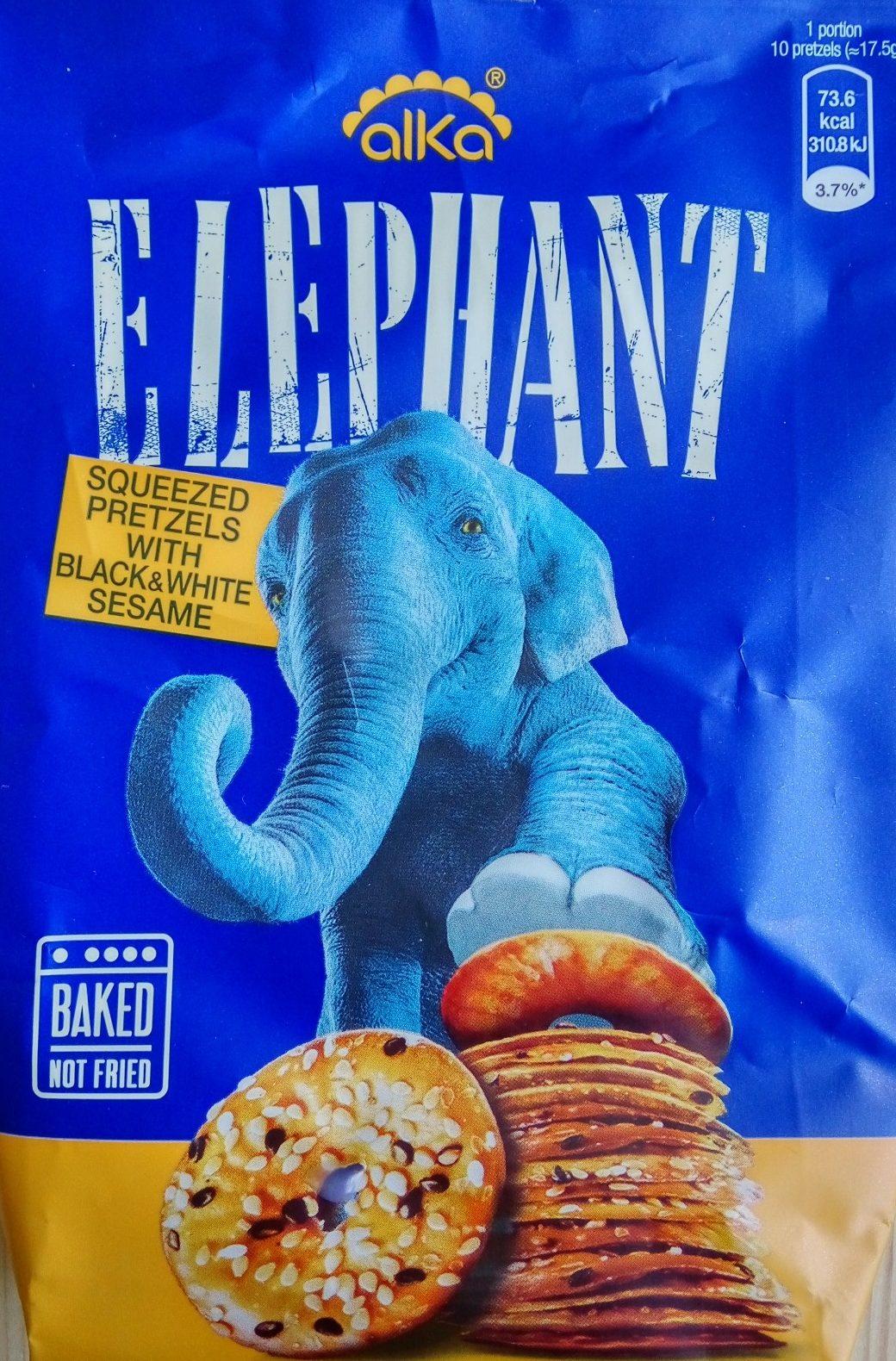 Elephant sa susamom - Производ - sr