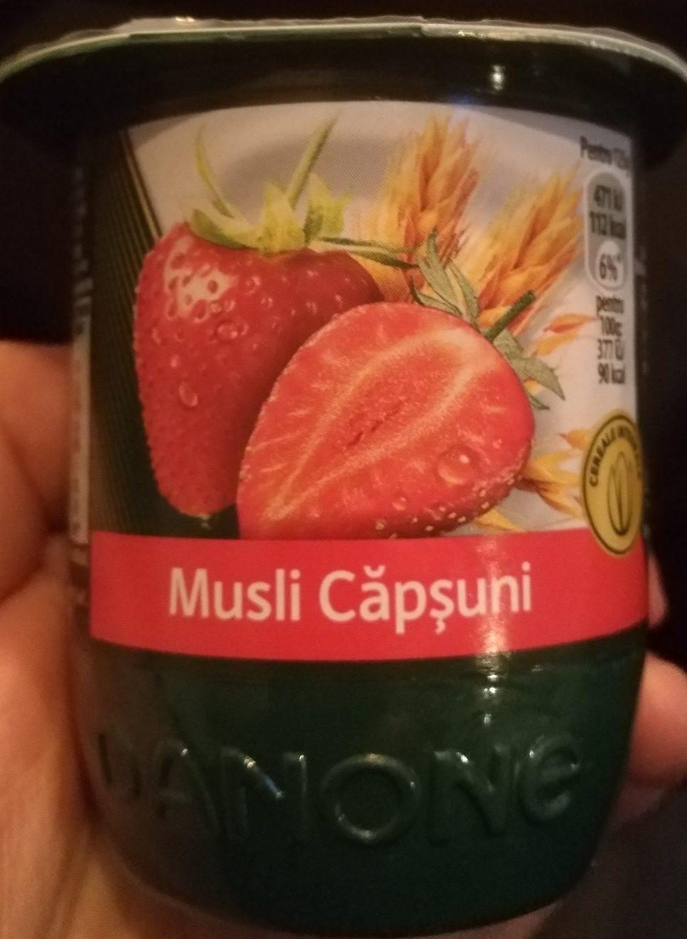 Danone Activia Iaurt Musli Capsuni - Product - ro