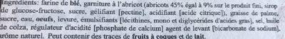 Mini beignets abricot - Ingredients