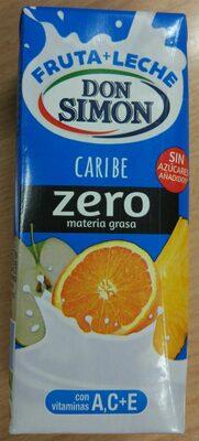 Fruta + leche caribe zero - Produit - es