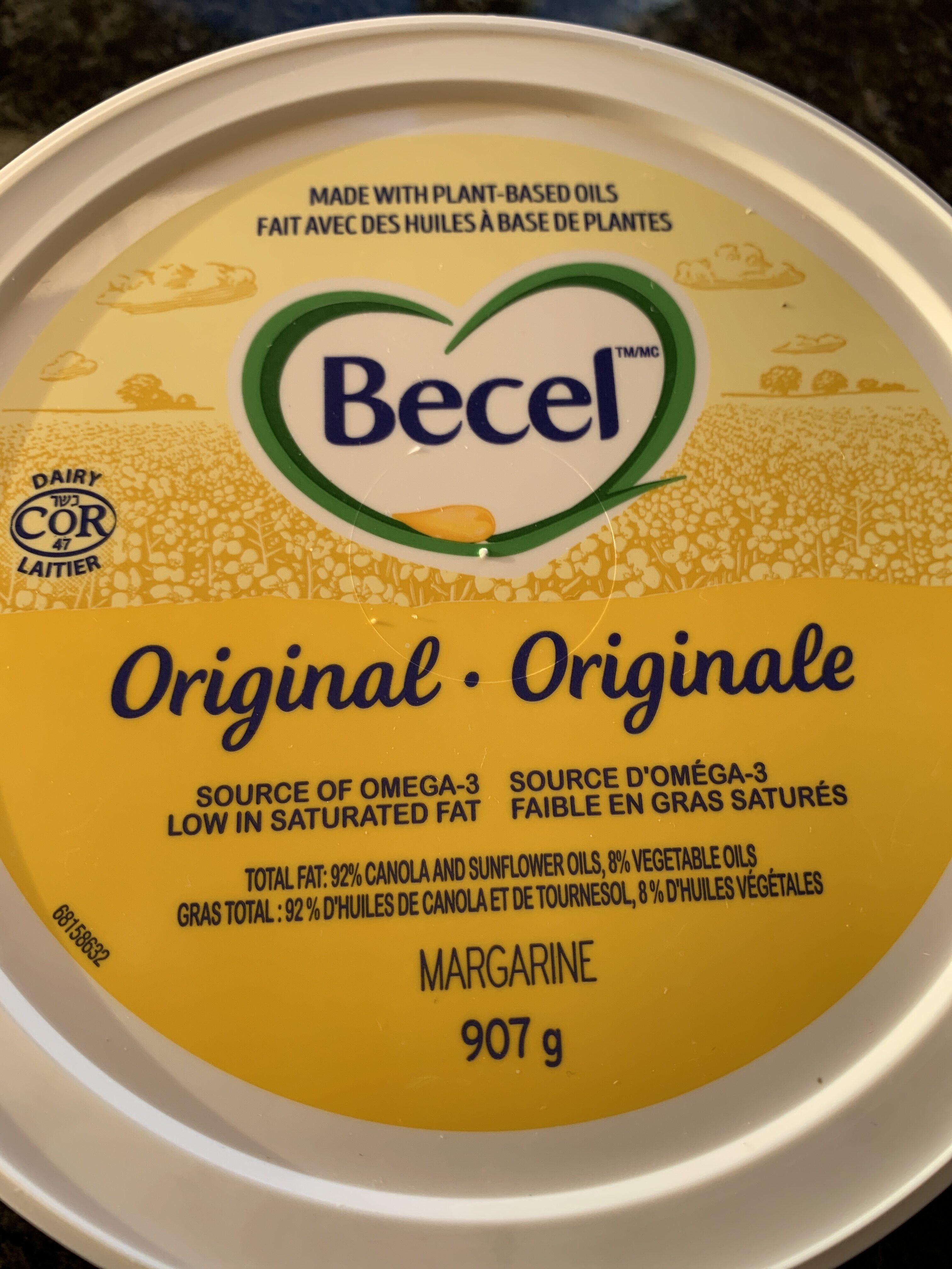 Becel - Nutrition facts - en
