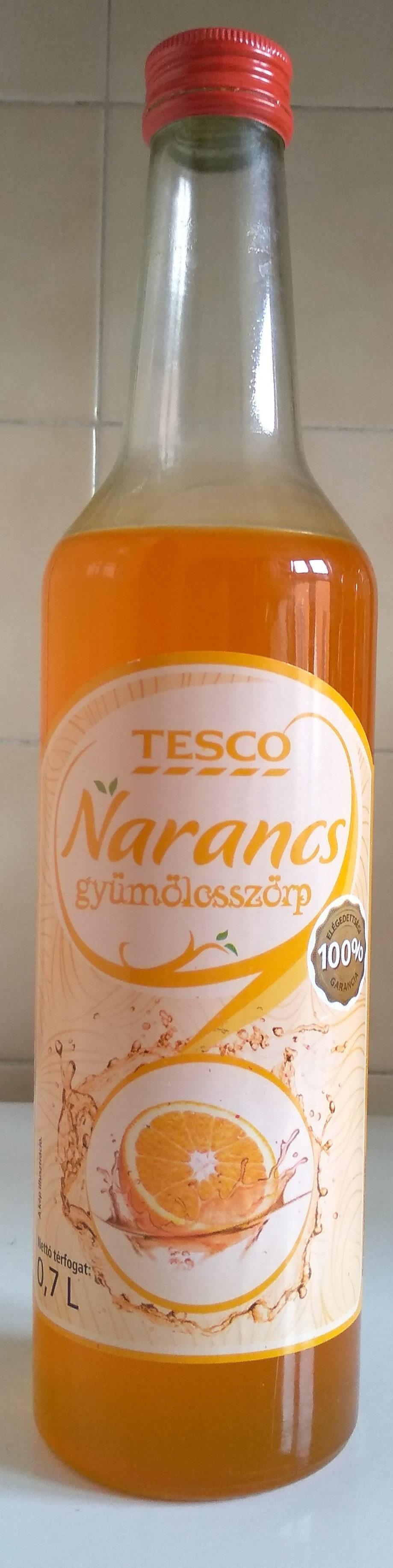 Tesco Narancs gyümölcsszörp - Product