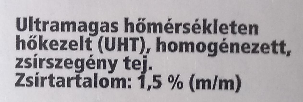 Tej - Ingrédients - hu