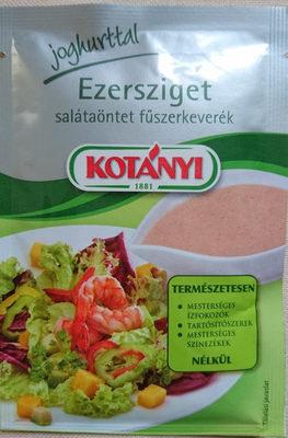Ezersziget salátaöntet fűszerkeverék - Produit - en