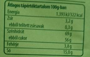 Ezersziget salátaöntet fűszerkeverék - Informations nutritionnelles - en