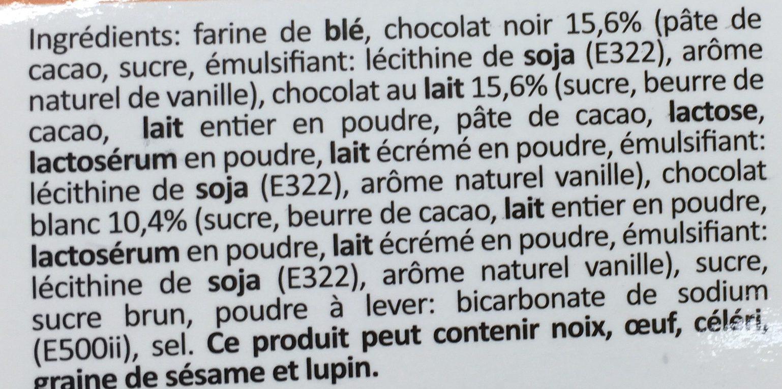 Cookie mix - Ingrediënten - fr