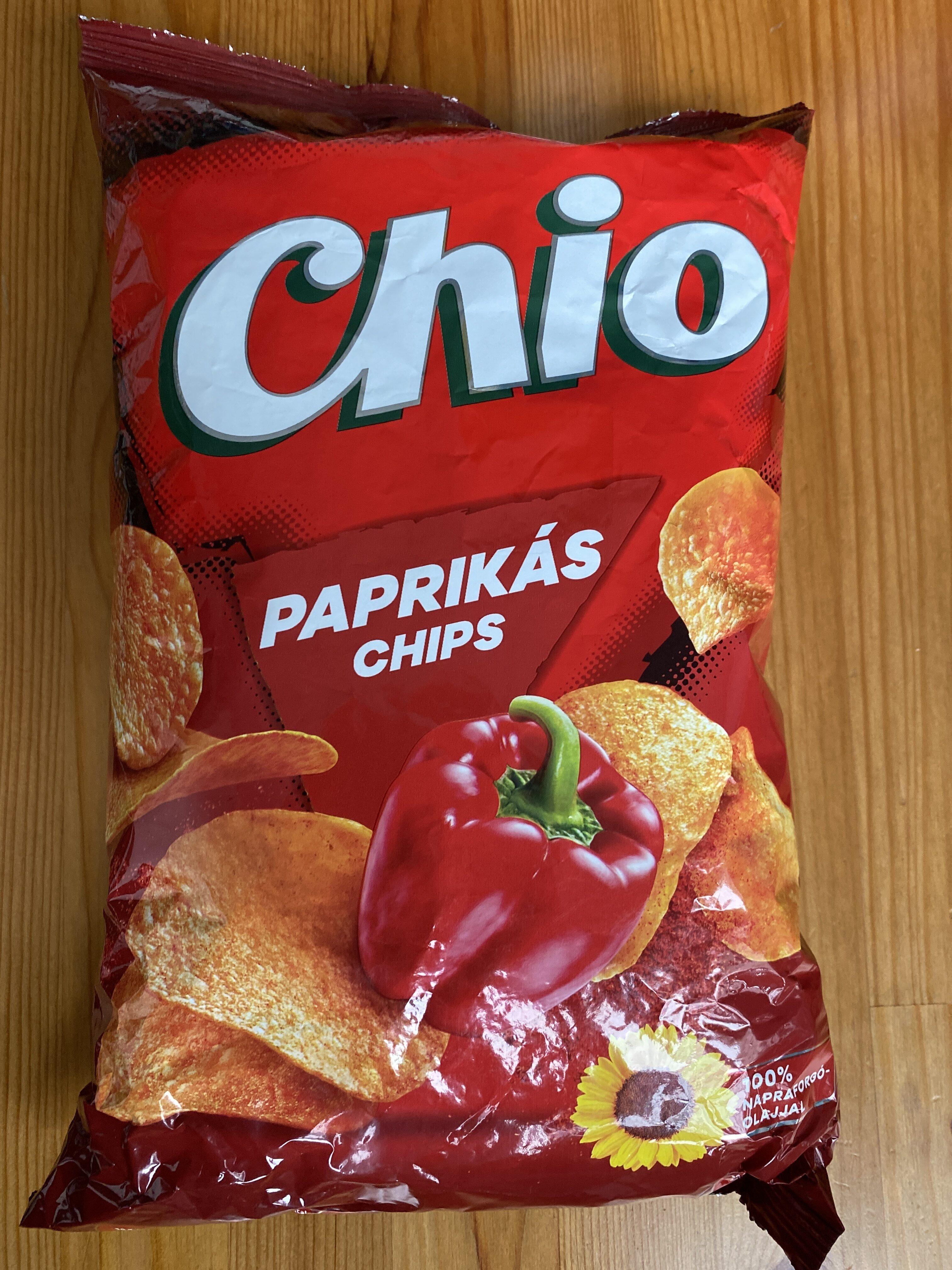 Paprikás chips - Prodotto - hu