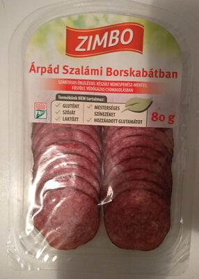 Árpád szalámi borskabátban - Product