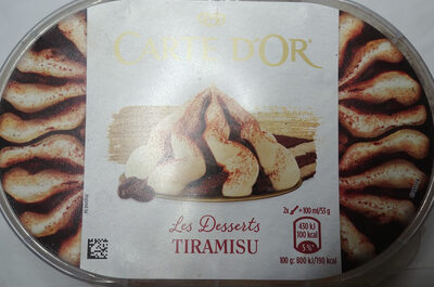 Lody o smaku tiramisu z sosem kawowym - Produkt - pl